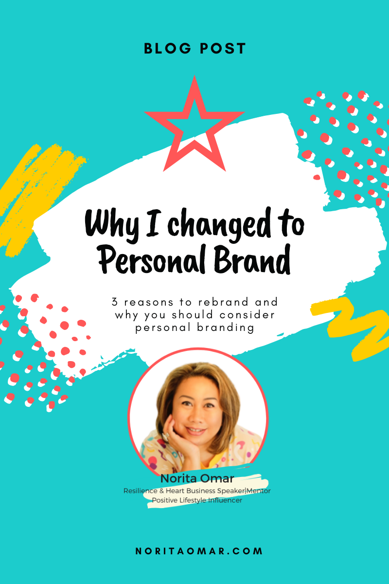 Why I Changed to Personal Brand?
