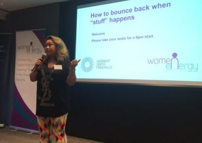 Resilience Seminar Women in Energy 2017