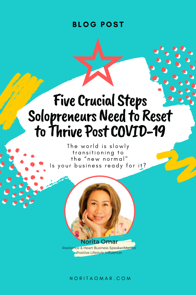 Five Crucial Steps Solopreneurs Need to Reset to Thrive Post COVID-19