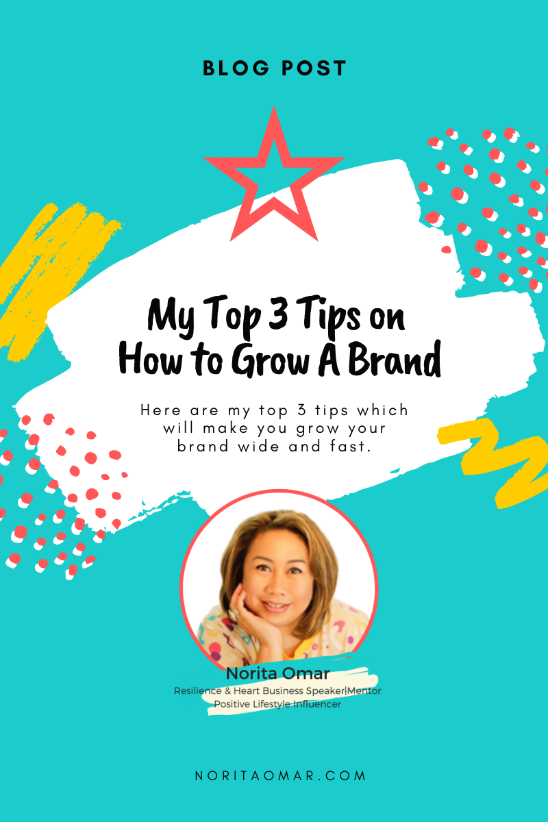 My Top 3 Tips on How to Grow a Brand