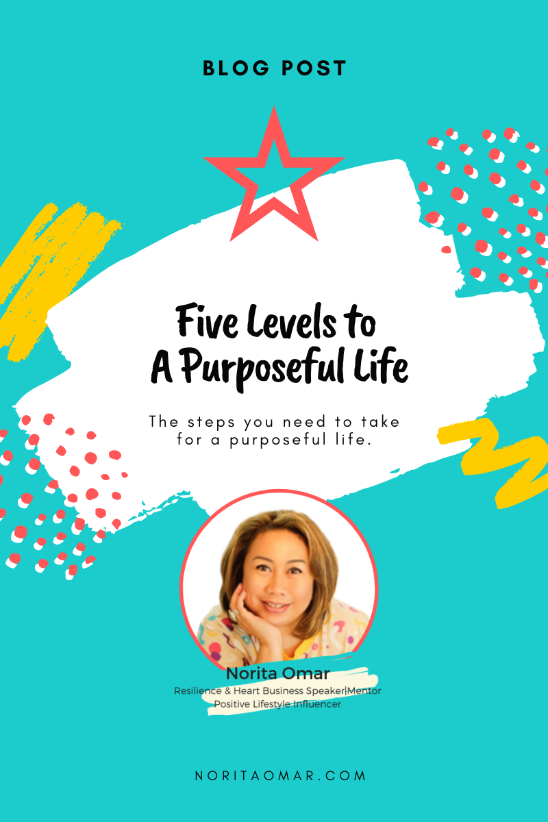 Five Levels to A Purposeful Life